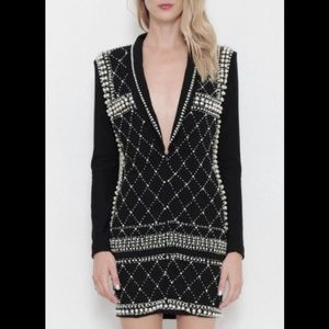 L'ATISTE Bead Blazer Dress!